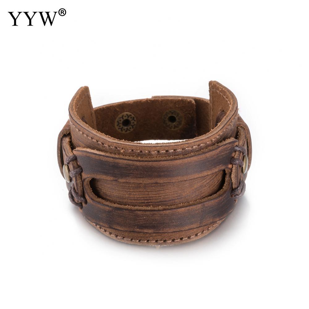 Snap Leather Warp Bracelets For Women Men Jewelry 2017 Pu Leather Cuff  Bracelet Jewelry Blank Fashion