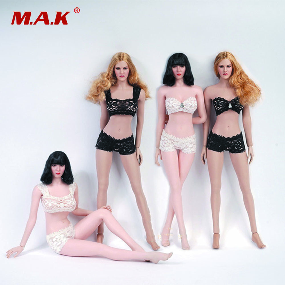 "1//6th Female Black Body Belt SM Arm Strap Model for 12/"" PH HT Action Figure Doll"