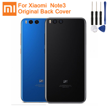 Xiao Mi Xiaomi Original Glass Battery Rear Case For Note3 MI Note 3 Phone Backshell Back Cover + Tool