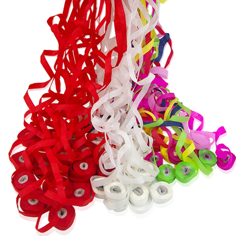 10pcs throw Streamers multicolor spider thread 30heads magic trick Hot Zauberartikel & -tricks