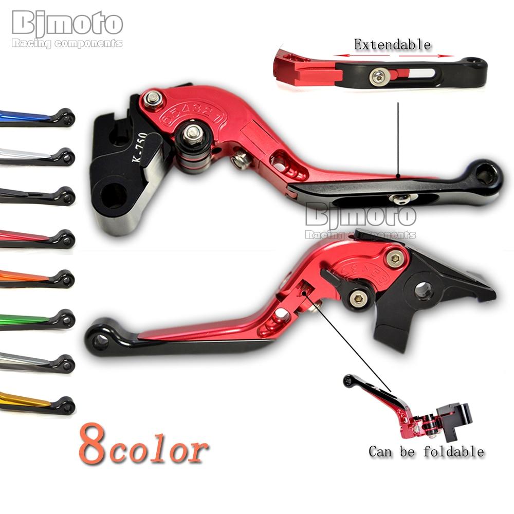 BJMOTO Motorbike Brake Clutch Levers For Suzuki DGSXR600 GSXR750 GSXR1000 Bandit 650S GSR750 TL1000S GSR600 alu new folding billet adjustable brake clutch levers for suzuki gsxr 600 750 1000 gsxr600 gsxr750 gsxr1000 09 10 11 12 13 14 15
