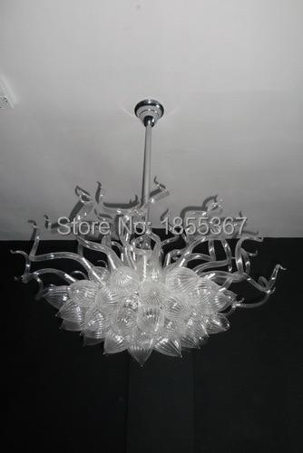Freies Verschiffen Hohe Decke Klarglas Antike Indische Glas Kronleuchter  Lampen