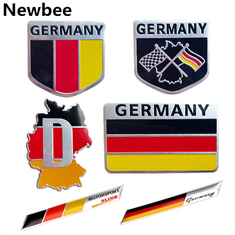 Germany Flag Chrome Dust Valve Caps Quality Gift Box German VW Audi BMW Car UK
