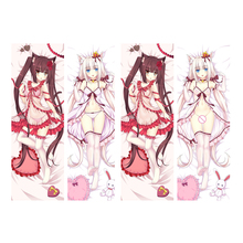 Japanese Anime Sexy NEKOPARA Hugging Body Pillow Cover Case Pet Decorative Pillows  Pillowcase 2way