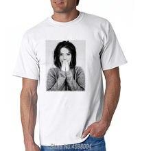 Los cubos de hielo Bjork 132 t camisa Islandia 90 s Pop T-Shirt hombres  marca ropa 100% algodón hombre Camisetas 212103283d9