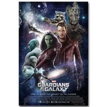 Star Lord – Guardian of The Galaxy Art Silk Fabric Poster Print 13x20inch Superheroes Movie Picture for Room Wall Decor 002