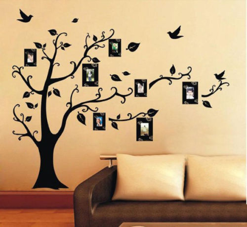 Delightful 1PC Family Tree Wall Decal Remove Wall Stick Photo Tree Wall Stickers  Memory Tree Photo Frame New 2016 Vinyl Wall Decals In Wall Stickers From  Home U0026 Garden ...