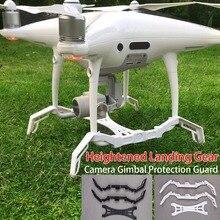 Mayor Trenes de aterrizaje Estabilizadores landing SKID + PROTECCIÓN DE Gimbal para DJI Phantom 4 Pro/4pro +
