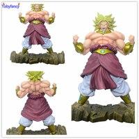 Anime Dragon Ball Z Action Figures Broli Super Saiyan Broly PVC Action Figure 25CM Collectible Model