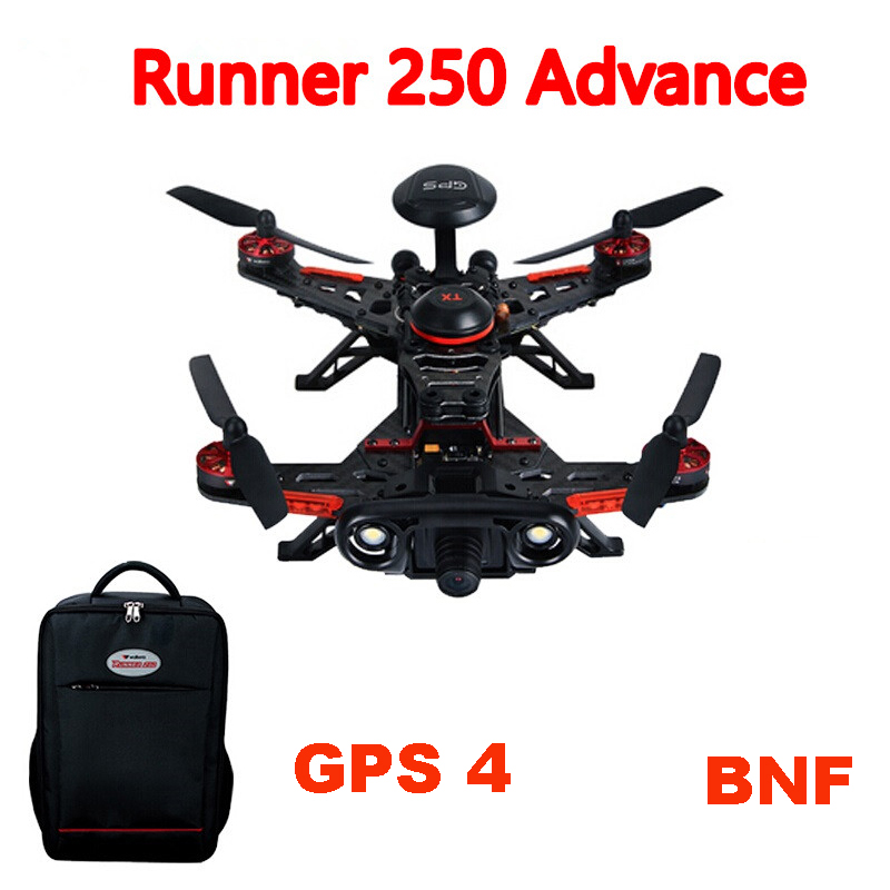 Walkera Runner 250 Advance BNF (Without Transmitter) GPS RC Drone Quadcopter with Battery / OSD /800TVL Camera / backpack аккумулятор для мобильных телефонов nokia 720 lumia720 720t 625 625h bp 4gwa