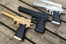 Новая Россия 2016 Desert Eagle мальчик детей электрический игрушечный пистолет инфракрасный Производительность реквизит игрушечный пистолет pressao Кристалл пистолет игрушки