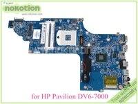 NOKOTION 48.4ST04.021 682176 001 682176 501 Laptop main board For hp pavilion DV6 7000 DV6 mothboard HD4000 15.6'' ddr3|Laptop Motherboard|Computer & Office -