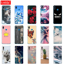 case for huawei P20 LITE case cover for huawei p20 pro back cover silicone 360 full protective soft coque copa cute dog cat(China)