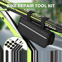 16 in 1 Multifunctional Repair Kit For Bicycle Screwdriver Tool For Bicycle MTB Tool Set For Bike With Storage Pouch Mini Pump|Bicycle Repair Tools| |  -