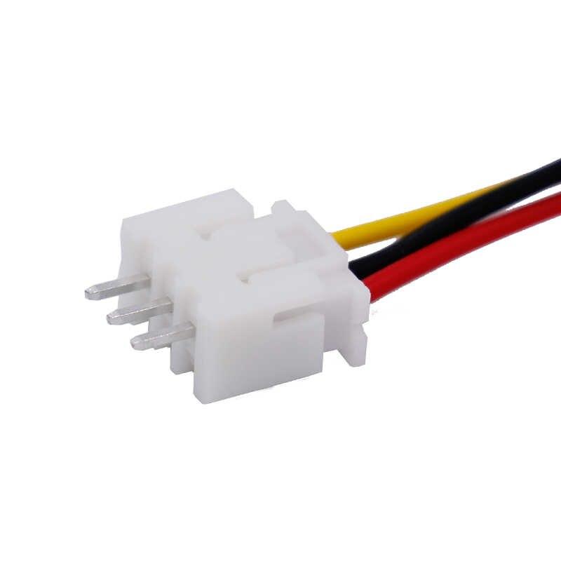 10 個 150 ミリメートル 15 センチメートル RC リポバッテリー充電コネクタ 2S1P ブランス充電プラグライン男性/女性 10% オフ