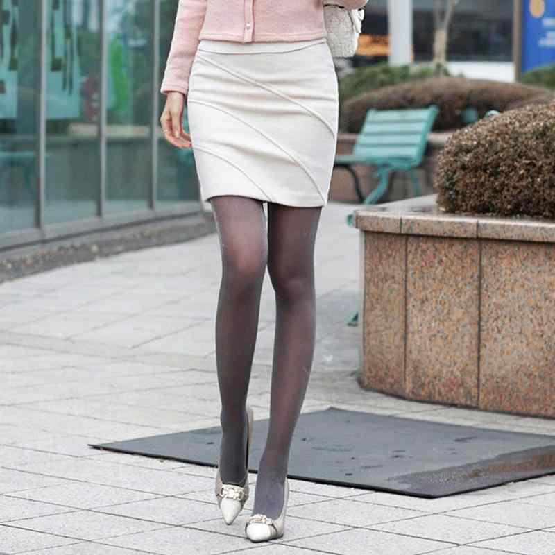 Модные блестящие женские блестящие колготки из капроновой пряжи блестящие чулки весна осень Женские глянцевые колготки чулки