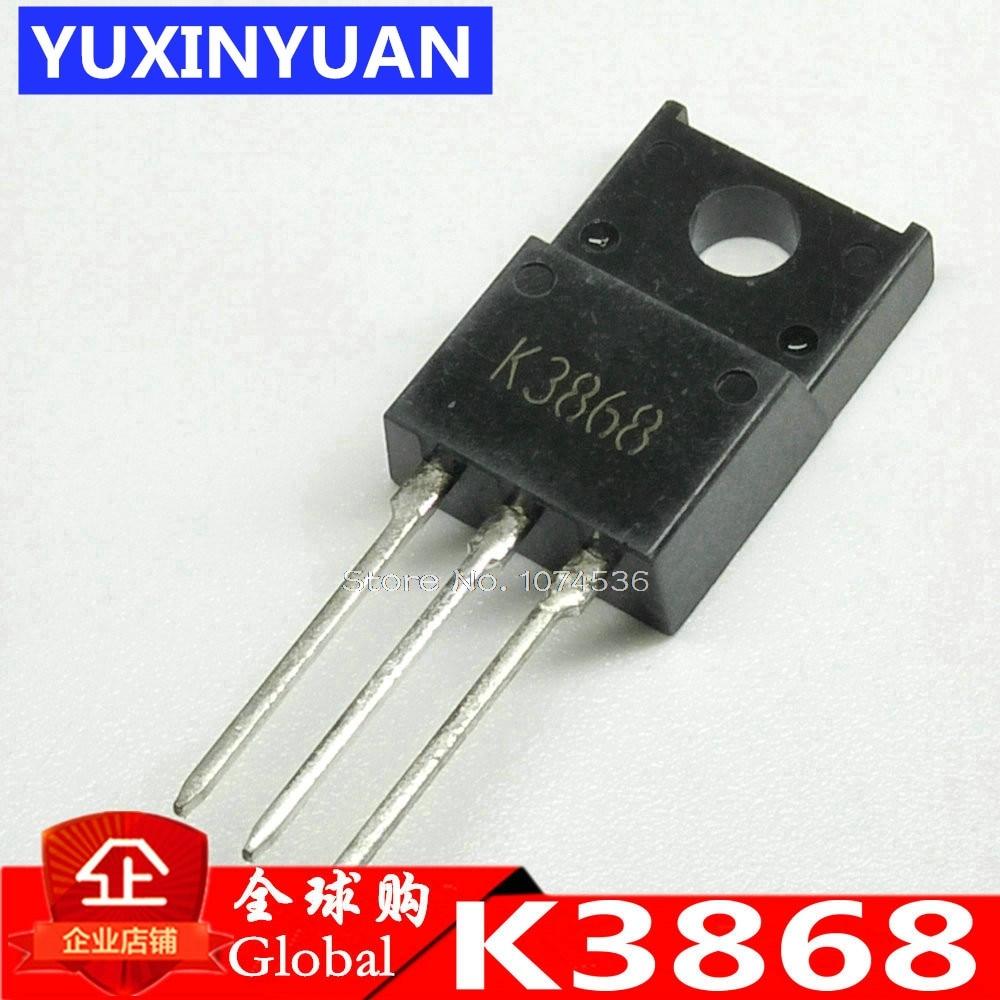 K3868 2SK3868 5A 500 V MOS FET TO-220 N mikrokanalrohr neue оригинальный Sofortige lieferung 1 шт.