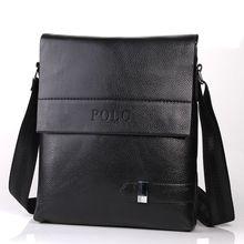 Men's Crossbody Bag bolsas Men Messenger Bag Vintage  Male Famous Brand polo Design pu Leather Men Bag Casual Business Leather