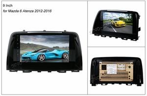 Image 4 - SINOSMART поддержка собственной системы парковки 1 г/2 г Автомобильный gps навигационный плеер для Mazda 6 Atenza/CX 5 32EQ процессор для цифровой обработки сигналов 4 г опционально