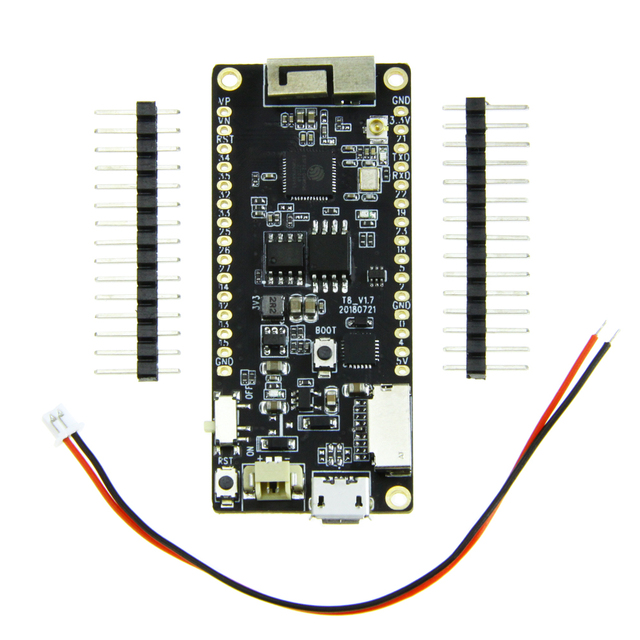 TTGO T8 V1.7 ESP32 4 MB PSRAM THẺ TF 3D ĂNG TEN Wifi & Bluetooth ESP32-WROVER Micropython