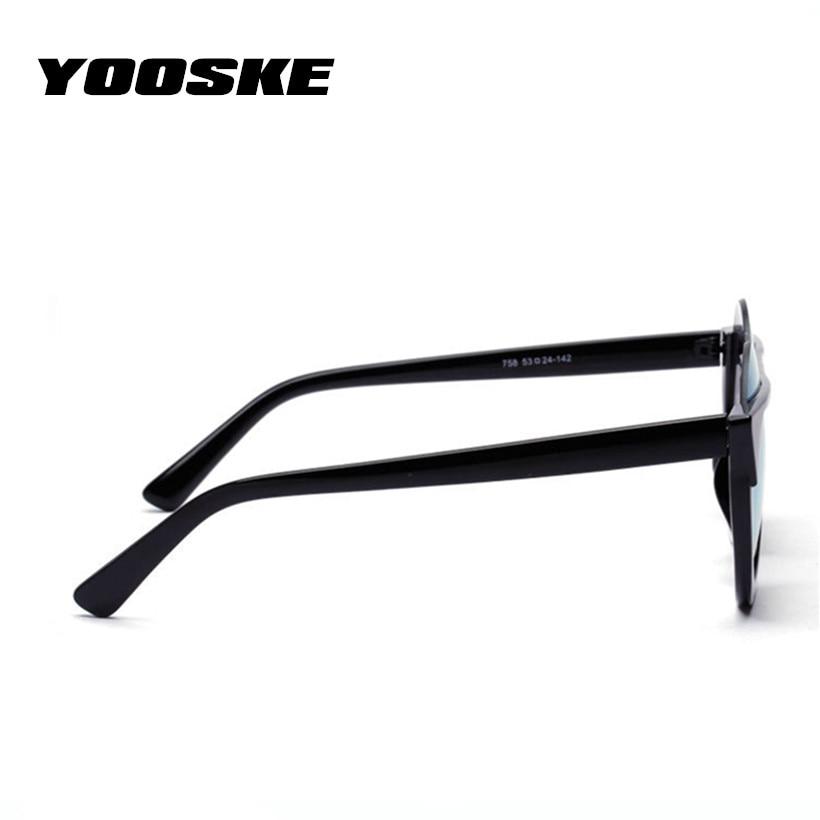 YOOSKE Retro Cat Eye Sonnenbrille Frauen Candy Farbe Objektiv ...