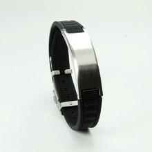 Фотография 2000 Ions Titanium Germanium Wristband Bracelet sports Health Balance Energy Balance Human Body S003