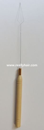 Free shipping 50pcs/pack Quality nano hair extension tool/hair extension hook needle ...