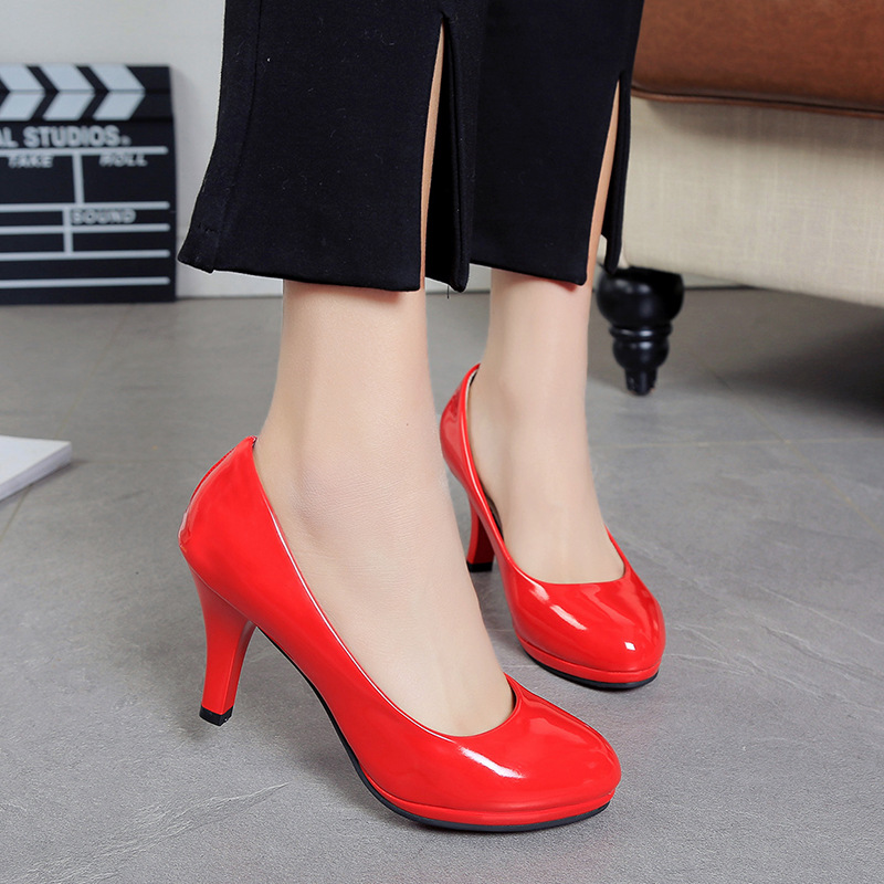 1a3b684e5efa6e 2019 New Women Shoes Pumps High Heels Ladies Slip-on Red Bottom Sexy Shoes  Woman