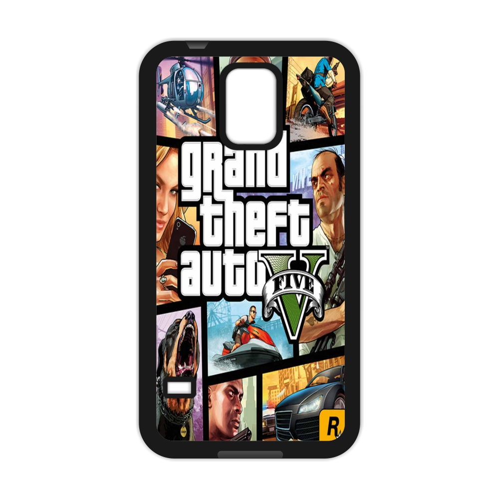 Grand Theft Auto GTA 5 Classical Computer Game Cover Case for Samsung Galaxy S3 S4 S5 Mini S6 S7 S8 Edge Plus A3 A5 A7