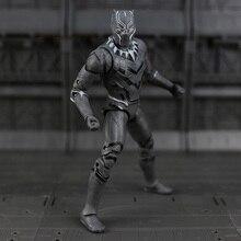 Капитан Америка: Гражданская Война Черная Пантера ПВХ Действий Рис Коллекционная Модель 17 см