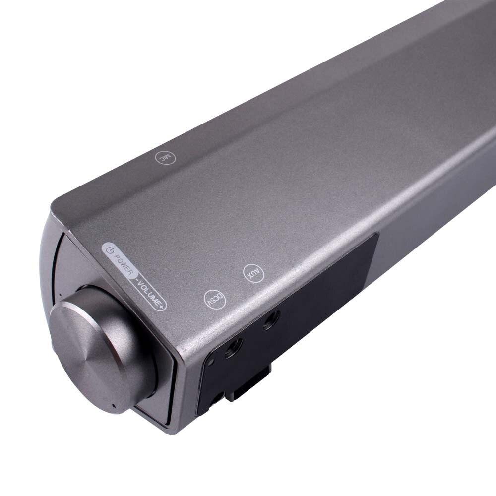 Портативный стерео super bass звук бар bluetooth Динамик Беспроводной сабвуфер компьютер PC ТВ Колонки Саундбар Bluetooth получать