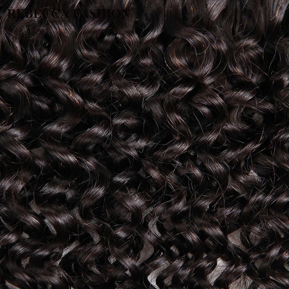 Rebecca Braziliaanse Remy Krullend Bulk Menselijk Haar Voor Vlechten Bundels Gratis Verzending 10 Tot 30 Inch Natuurlijke Kleur Hair Extensions