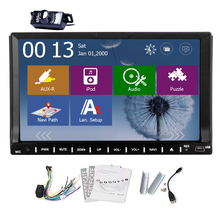 Radio 2 din MP3 Car DVD Player Head Unit Music GPS Stereo USB MP4 Universal 7″ Navigation Autoradio In Dash MP5