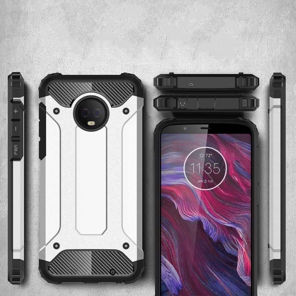 モト G5 ケース耐衝撃装甲シリコーン電話ケースモトローラモト E5 G4 G5S G6 Z 再生プラス力 TPU バックカバー