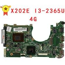 X202E Q200E материнской X201E X202E S200E i3-2365M 4 г 60-NFQMB1800-B04 Integrated