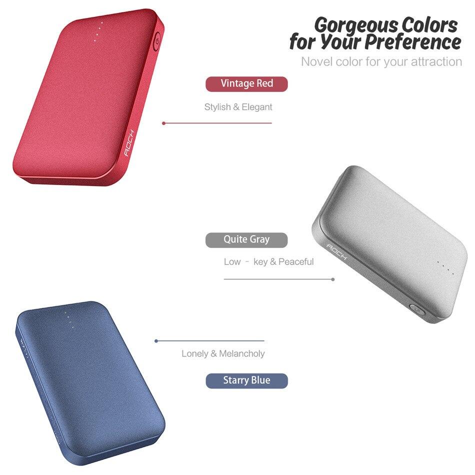 ROCK 10000 mAh Power Bank, Mini Portable Ultra thin Polymer Dual USB  Powerbank Battery for iPhone SamSung Xiaomi Huawei LG HTC|Power Bank| -  AliExpress