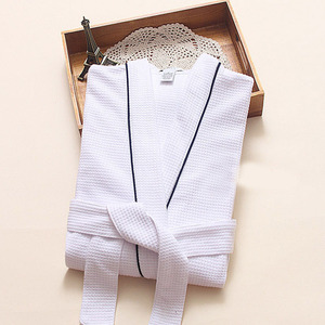 Image 1 - Nóng Slae Bánh Cotton Kimono Áo Tắm Nữ Gợi Cảm Plus Kích Thước Hút Nước Phù Dâu Áo Choàng nữ Đầm Bầu Thu Đông Áo Dây Femme