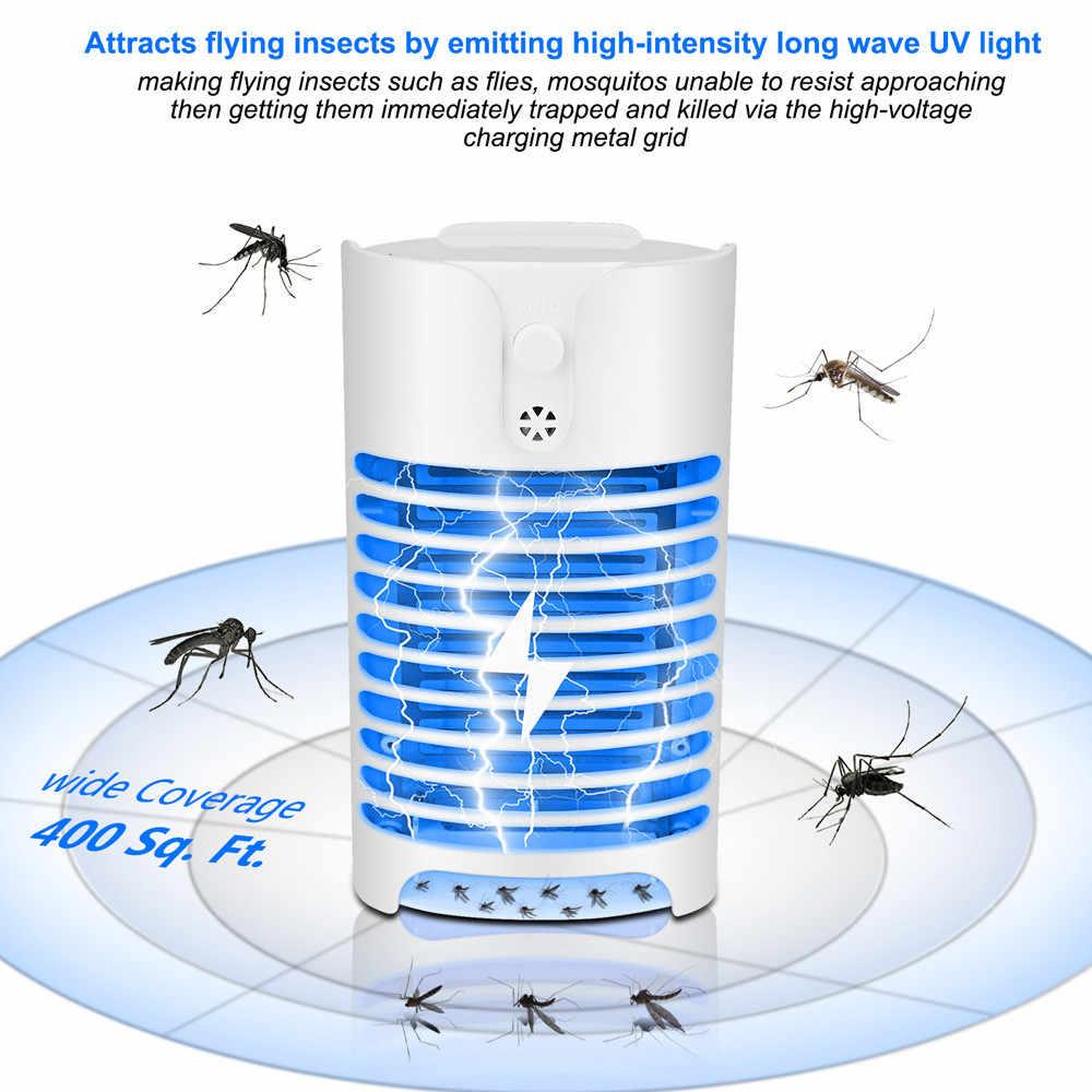 Убийца насекомых-комаров лампы Электрический убийца комаров Ловец снов дома Спальня насекомых летать висит ловушка детская комната репеллент