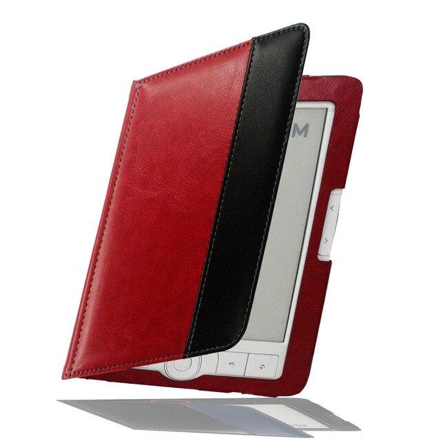 Чехол-книжка для Digma e61M eReader защитный кожаный чехол для r61m специальная карманная сумка ручной работы продукт