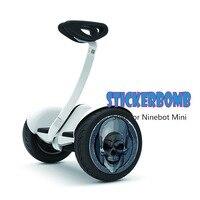 Mini Scooter Pegatina Hoverboard Etiqueta Patineta scooter Eléctrico gyroscooter hover bordo equilibrio scooter de rueda pegatina