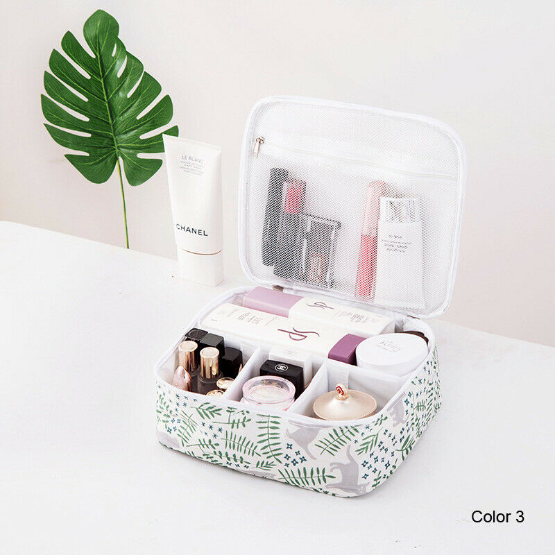 Makeup Storage Bag Toiletry Case Hanging Wash Pouch Cosmetic Hanging Wash Cosmetic Travel Organizer Women Print Cosmetic Bags in Storage Bags from Home Garden