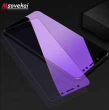 For Xiaomi Mi 8 SE Lite Mix 2S Max 3 Mi 5X 6X A1 A2 Lite Note 3 Anti Blue Light Tempered Glass For PocoPhone F1 Screen Protector for xiaomi mi 8 se lite mix 2s max 3 mi 5x 6x a1 a2 lite note 3 anti blue light tempered glass for pocophone f1 screen protector