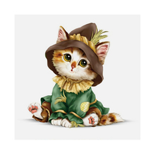 35*35cm DIY Diamond Painting Embroidery Cute Cat Cartoon Animal Cat 5D Diamond Painting Mosaic Craft Wall Hanging Home Decor Hot