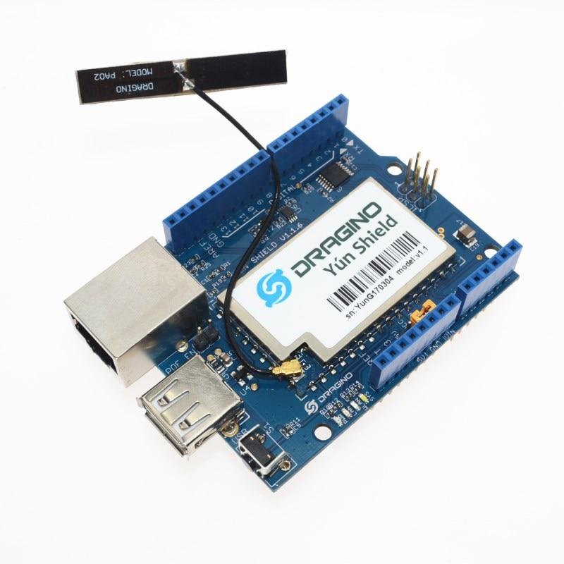 AR9331 Yun Bouclier Carte D'extension avec PCB Antenne pour Arduino Leonardo Diecimila Duemilanove Mega2560