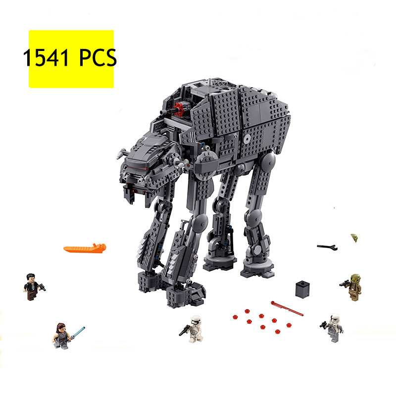 LEPIN05130 1541PCS Planet series heavy assault walking Mech assembled childrens building blocks particles toys Christmas gifts