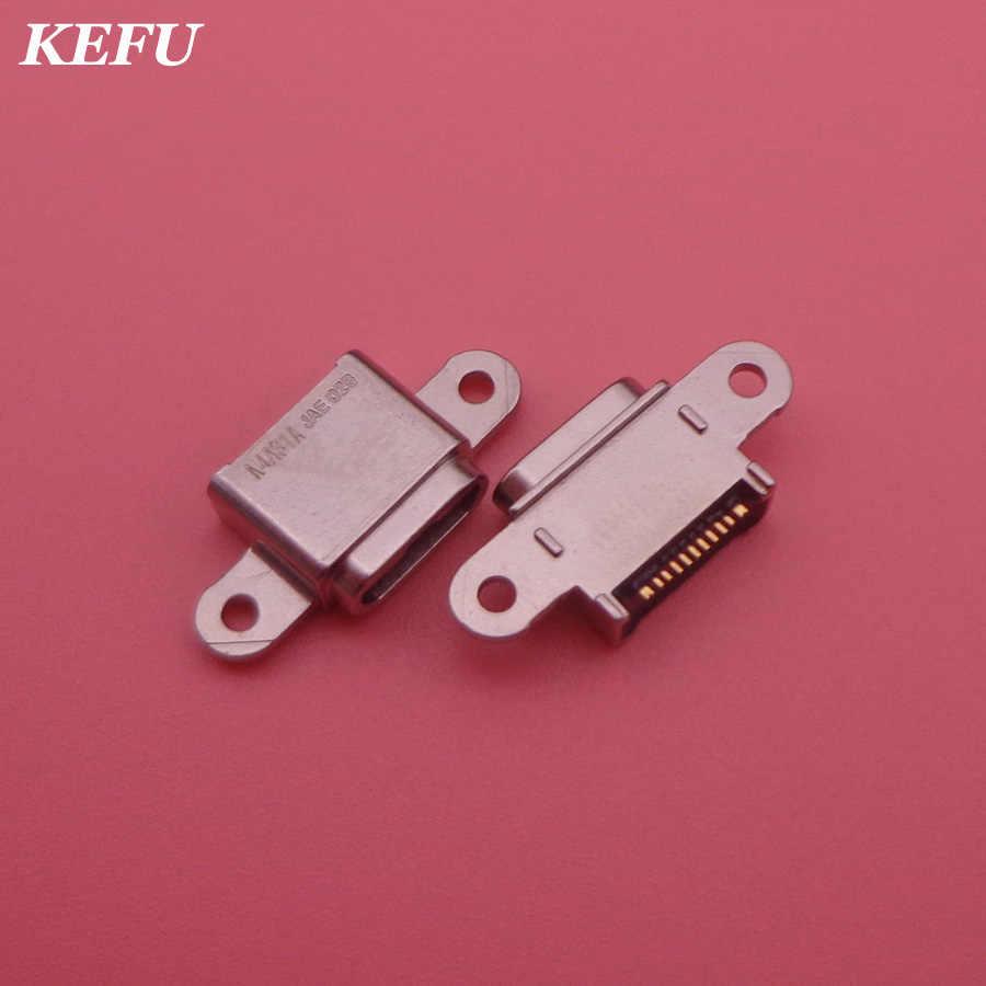マイクロ USB ジャックソケットのための S7 G9300 G930F ため S7 エッジ G9350 G935F 電話充電ポート