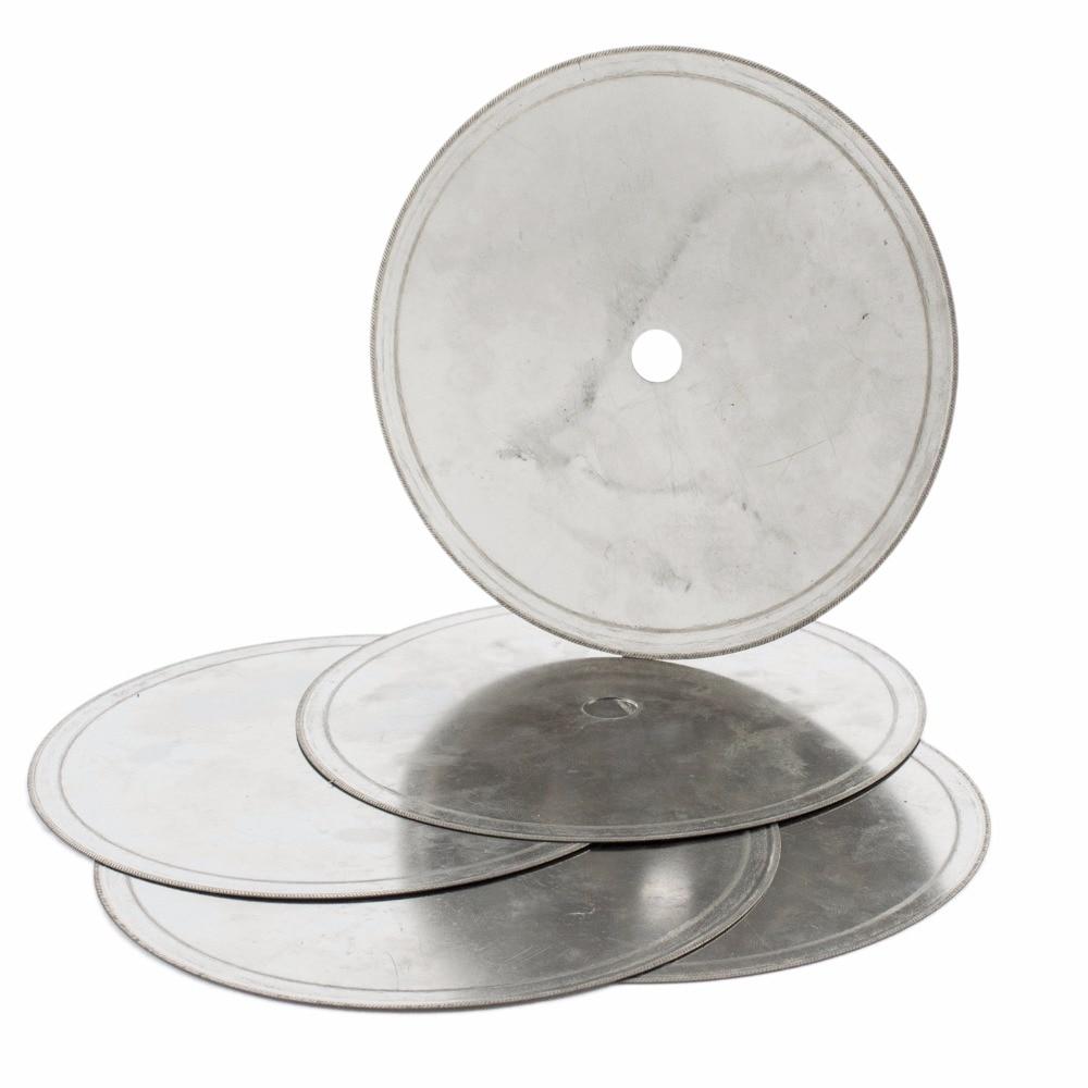 """5Pcs 6 """"pulgadas Super-Thin Arbor Hole 1/2"""" Rim 0.33-0.53mm Diamante Lapidario Hoja de sierra Disco de corte Herramientas de joyería para piedra preciosa"""