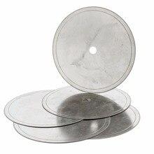 "5Pcs 6"" inch Super-Thin Arbor Hole 1/2"" Rim 0.36mm Diamond Lapidary Saw Blade Cutting Disc Jewelry Tools for Stone Gemstone"