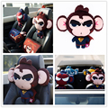 3D cartoon Car Headrest Pillow  Animal Car Head rest Neck Pillow Cushion for BMW/VW golf 4 5 6 / Honda/Toyota