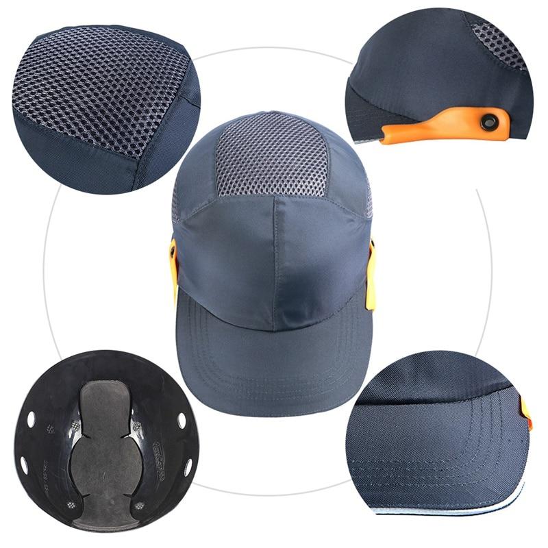 Schutzhelm Arbeitsplatz Sicherheit Liefert Männer Sicherheit Bump Cap Mit Reflektierende Streifen Leichte Und Atmungsaktive Harte Hut Kopf Schutz Kappe